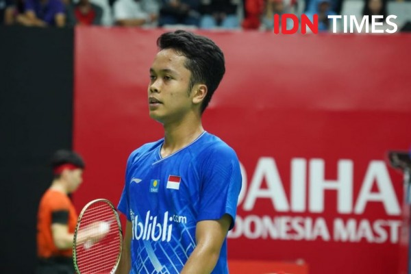 Anthony Ginting Ditargetkan Jadi Juara World Tour Finals