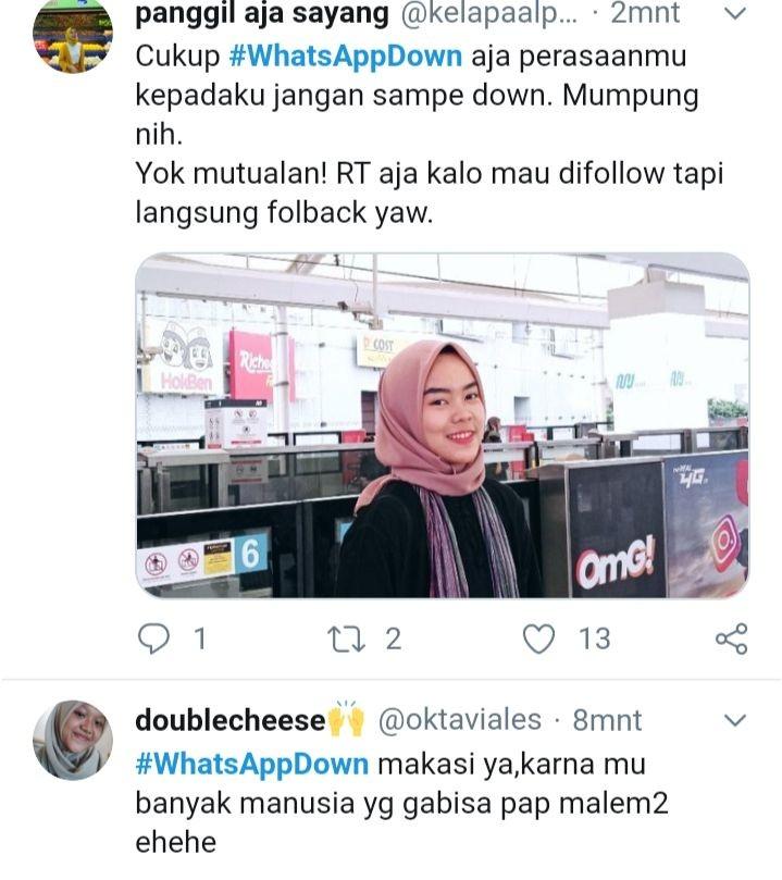 #WhatsAppDown Trending Topic, Netizen Ungkap Kekesalan Lewat Twitter