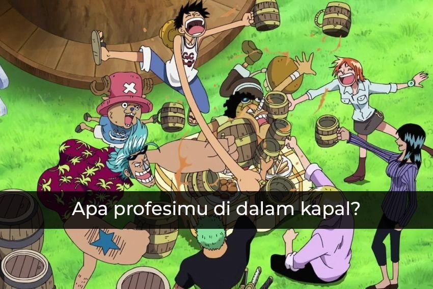 Cari Tahu Makanan Karakter One Piece yang Sesuai Denganmu!