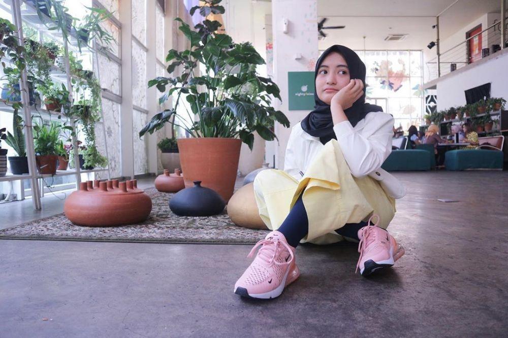 Berhijab dan Jago Ngelawak, 10 Foto Manis Arafah Rianti