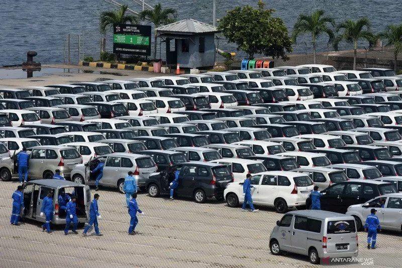 Indonesia Ekspor 332 Ribu Mobil, Toyota dan Daihatsu Terbanyak
