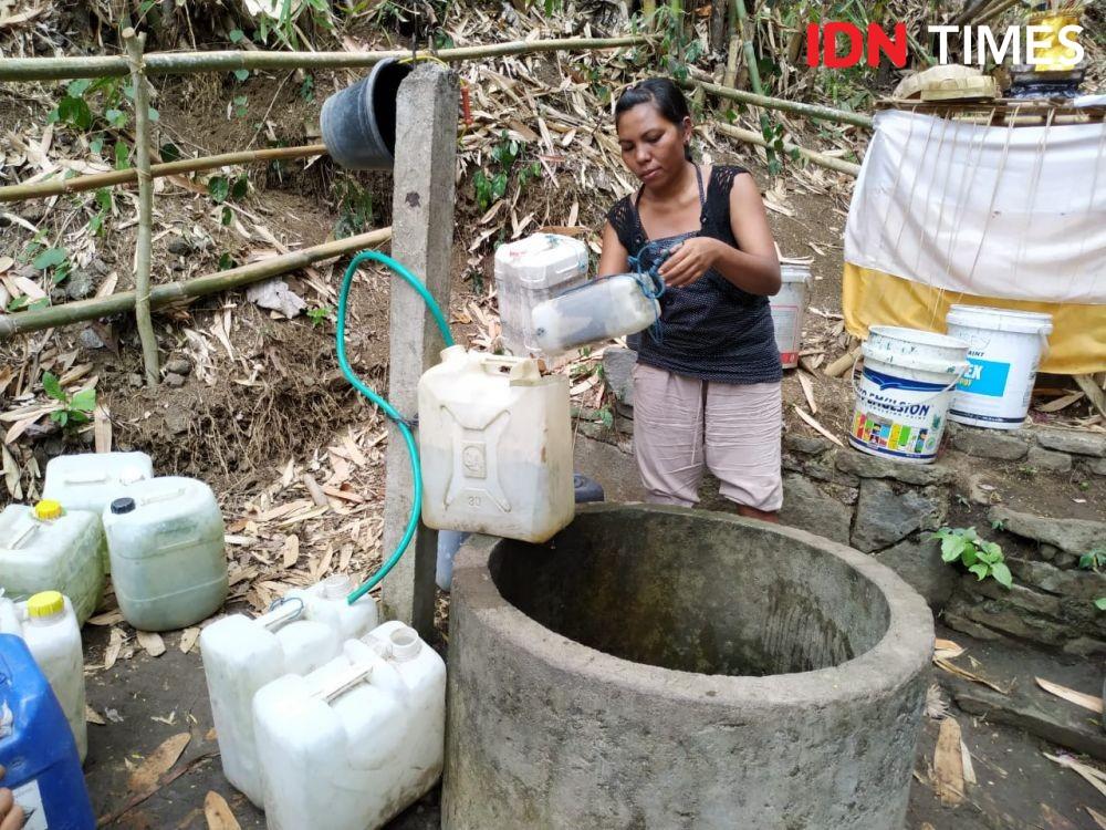 Puluhan Warga Gelogor Alami Kesulitan Air Bersih
