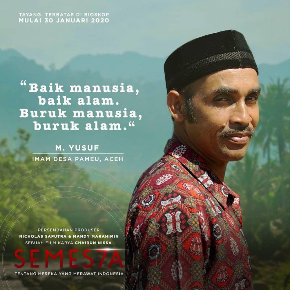 Pelajaran Hidup yang Dipetik dari Film Semes7a, Semua Wajib Jaga Alam
