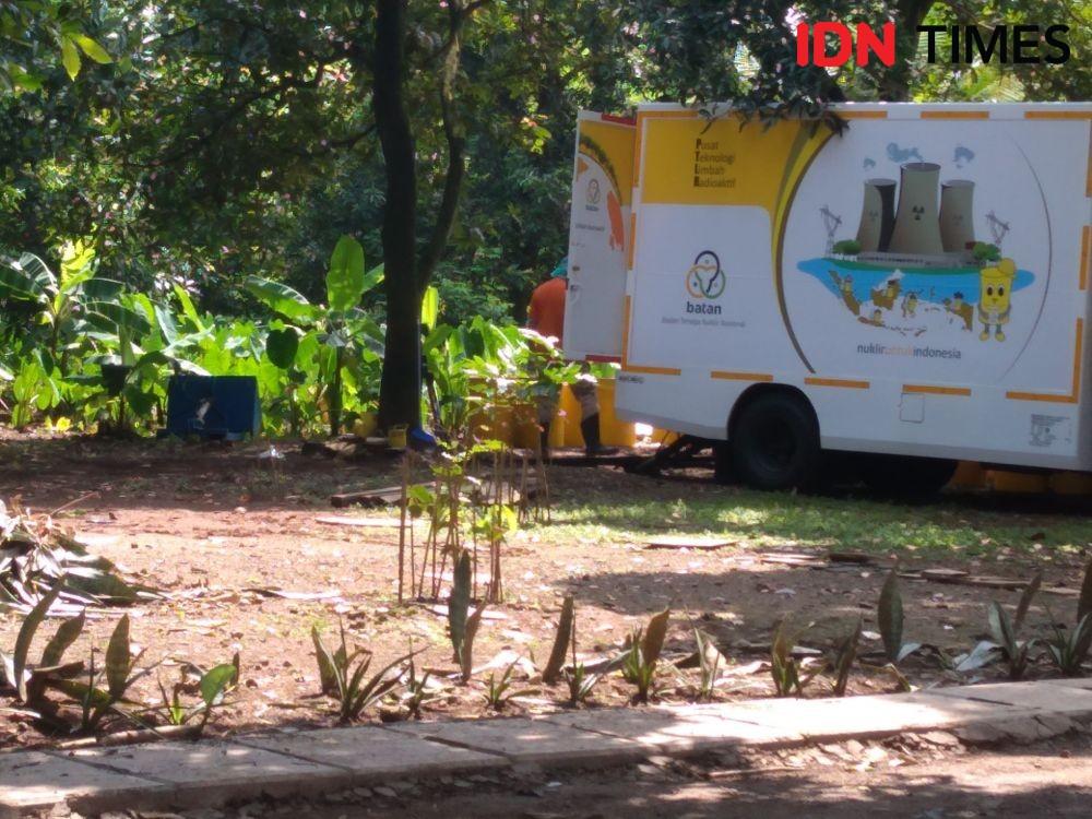 Bapeten Kembali Bersihkan Area Terpapar Nuklir di Serpong
