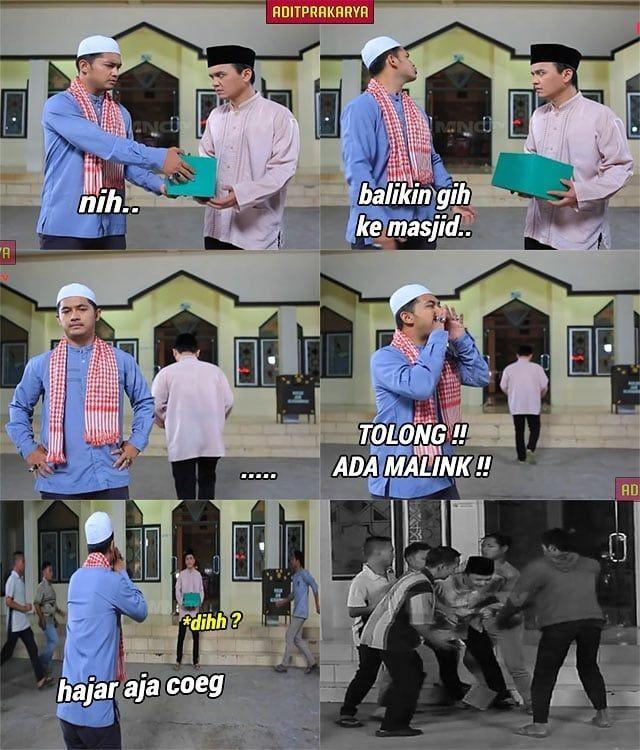 10 Meme Kocak dari Adegan Sinetron Azab, Karya Imajinasi Netizen