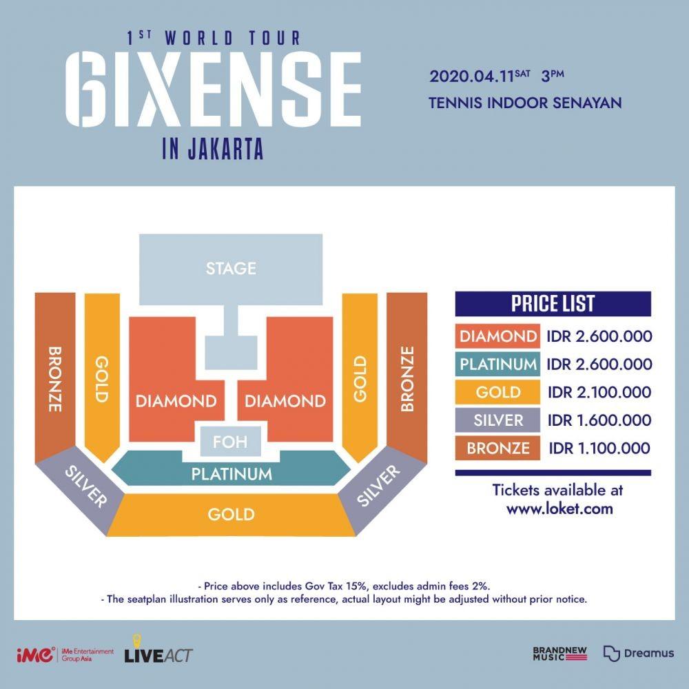 AB6IX Bakal Gelar Konser di Indonesia, Ini Harga Tiketnya