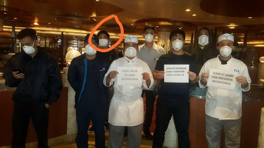 Sekitar 20 WNI Asal Bali Kerja di Kapal Diamond Princess