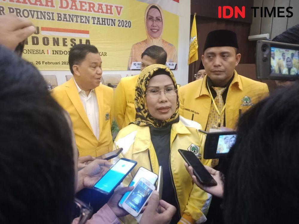 Golkar Dukung Mantu Atut Kembali Dampingi Irna di Pilkada Pandeglang
