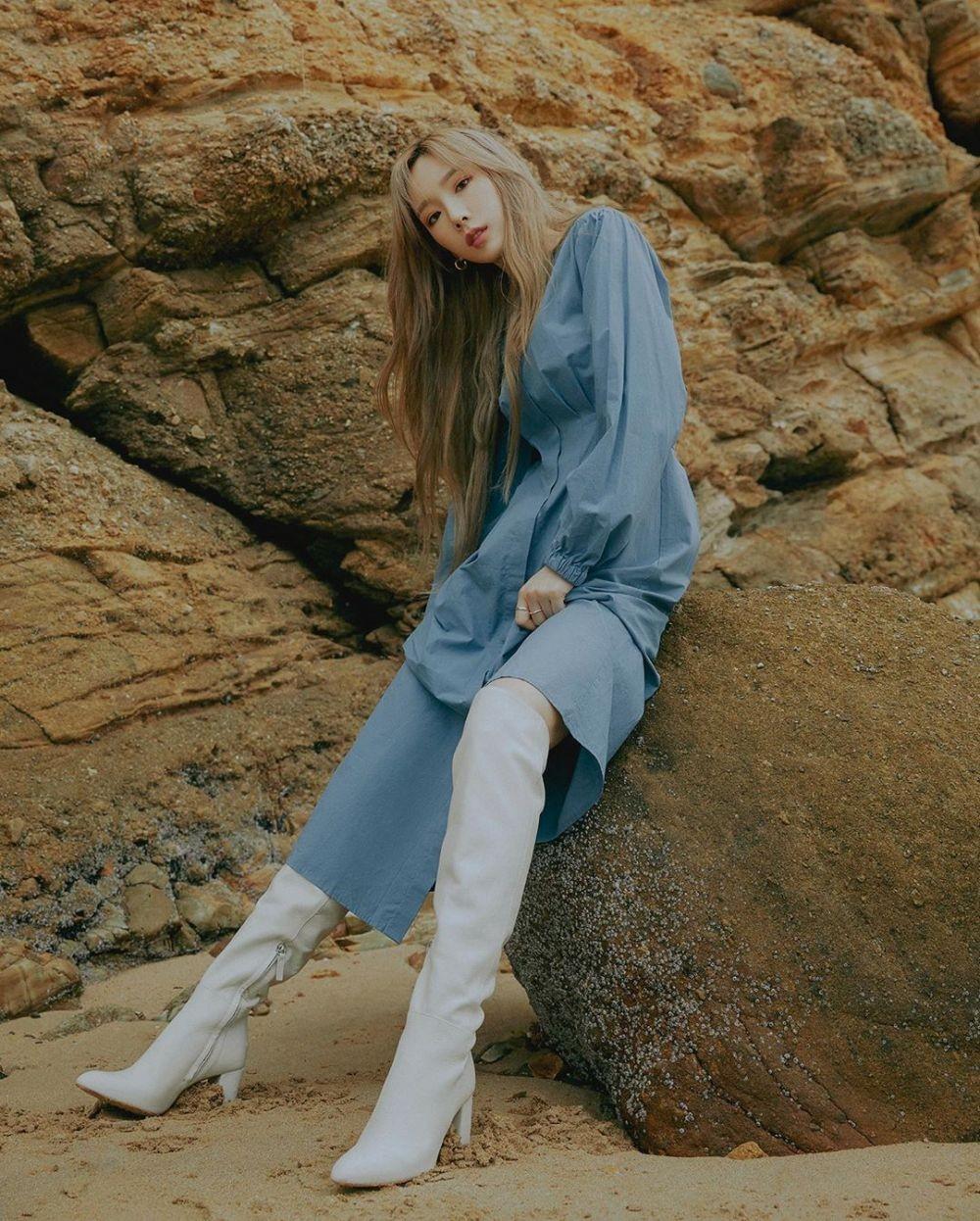 9 Inspirasi OOTD Taeyeon SNSD, Youthful dan Kekinian Tanpa Berlebihan