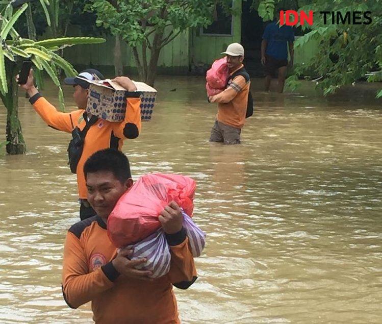 Seorang Pemuda Tewas Tenggelam di Banjir Kota Tangerang