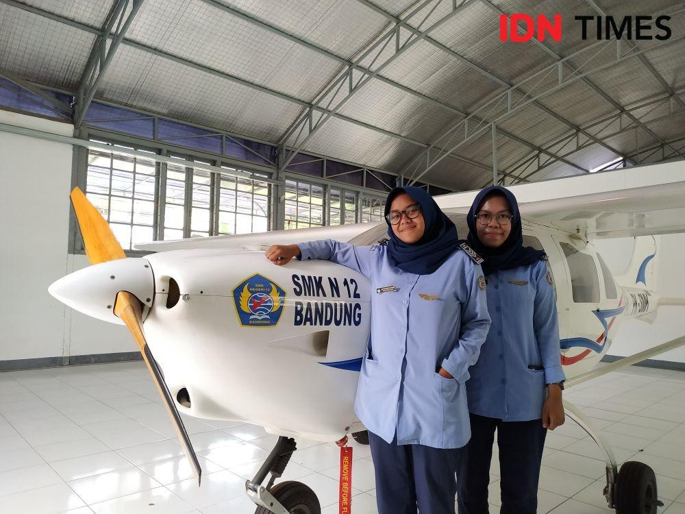 Ini Sosok Dua Siswi SMK yang Dipuji Ridwan Kamil saat Hari Perempuan
