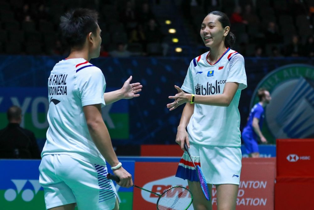 PBSI Home Tournament: Lawan Junior Berbakat, Hafiz/Gloria Menang 2 Set