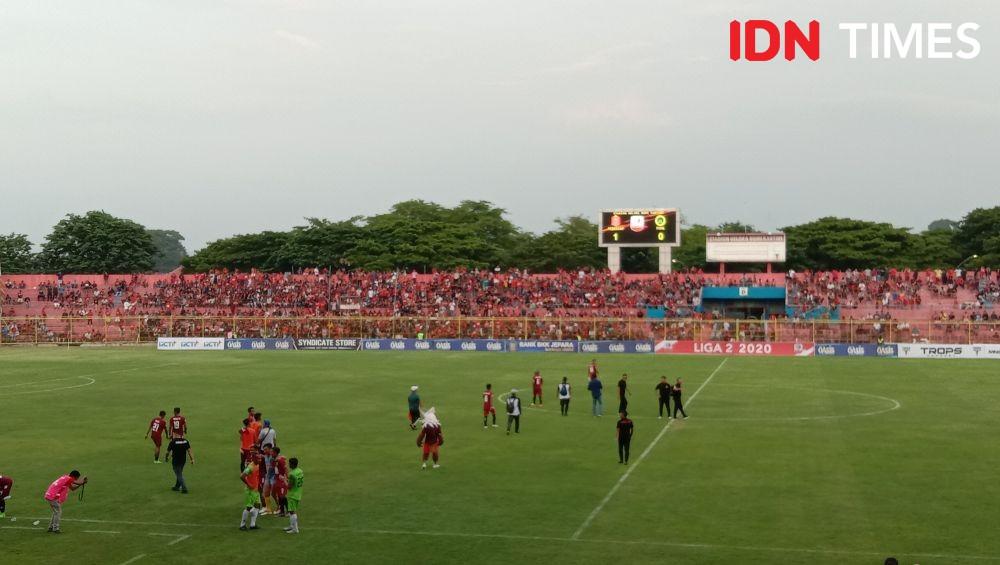 Hasil Liga 2 Persijap vs PSHW Jatim, Widyantoro: Harusnya Lima Gol