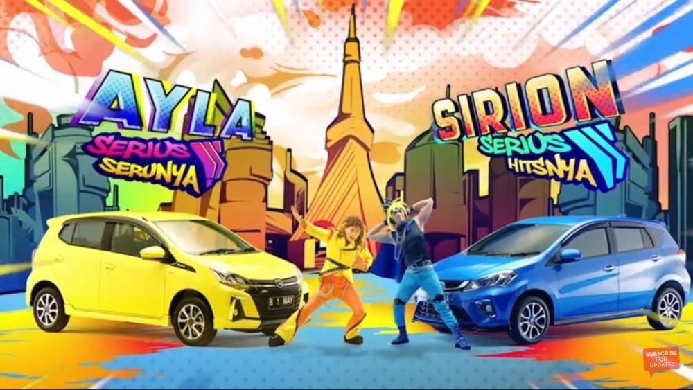 Daihatsu Luncurkan Ayla dan Sirion, Banderolnya Mulai Rp 100 Jutaan!