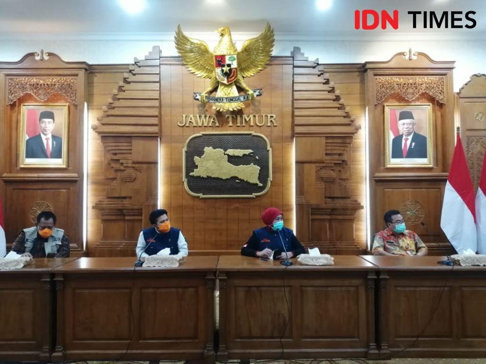 Khofifah Tak Restui Ada Lockdown Lokal di Wilayah Jawa Timur