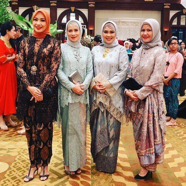 9 Inspirasi Kebaya Hijab untuk Kondangan ala Alya Rohali, Elegan!