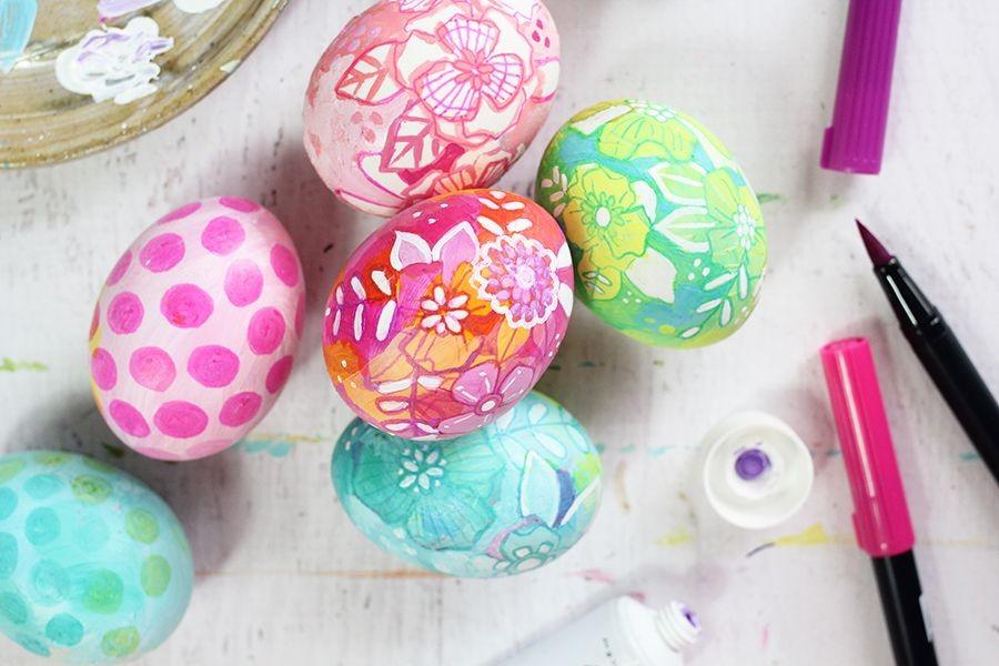 Penuh Warna! 10 Kreasi Hiasan Telur Paskah yang Unik