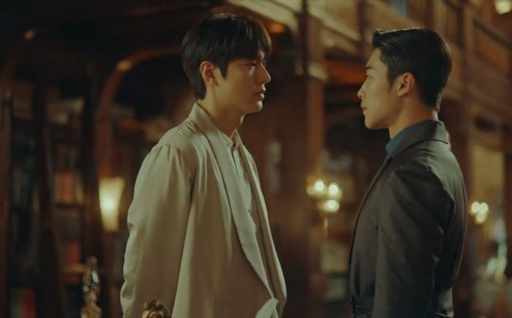 Visualnya Bening, 10 Momen Bromance Lee Min Ho-Woo Do Hwan di The King