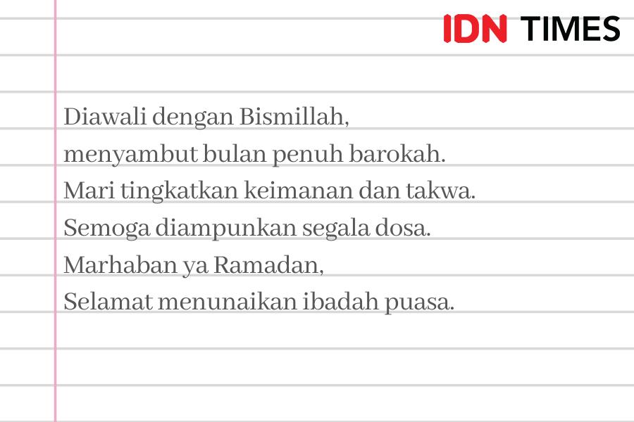 15 Ucapan Maaf Menyambut Puasa Ramadan di Tengah Pandemik COVID-19
