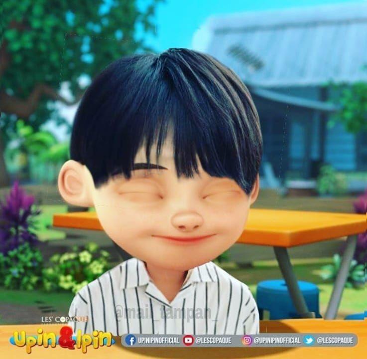 Auto Ngefans Nih, 10 Foto Editan Karakter Upin Ipin Jadi Oppa Korea