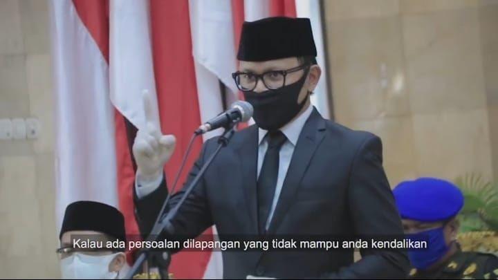 Potret Bima AryaNaik Vespa ke Balai Kota Bogor Usai Sembuh COVID-19