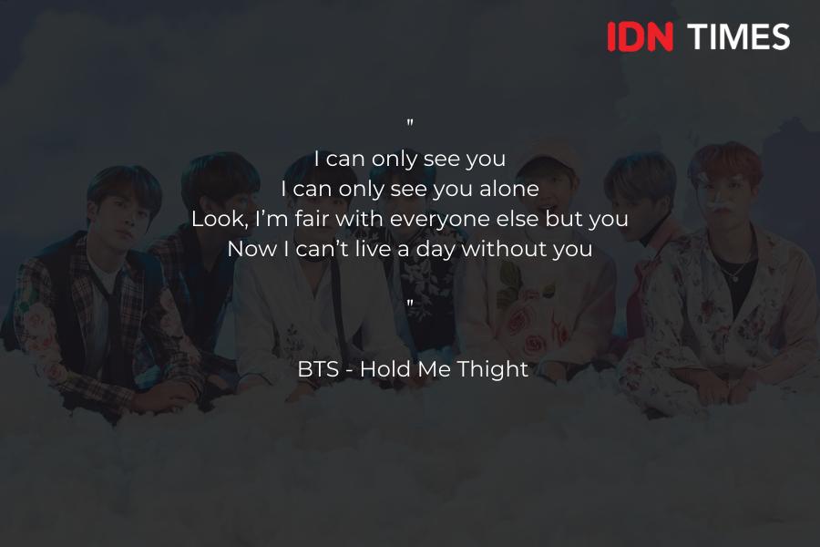 10 Kutipan Lagu BTS yang Paling Pas untuk Nyatakan Cinta, Pasti Baper