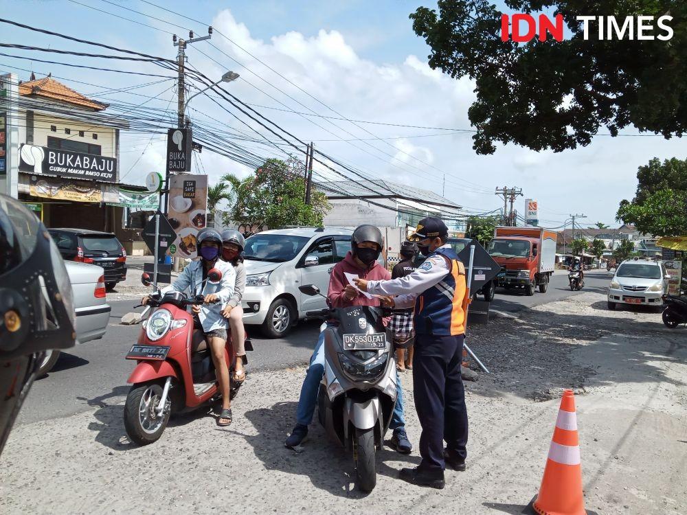 Selama 16 Hari Polres Bangli Bali Gelar Operasi Zebra Lempuyang 2020