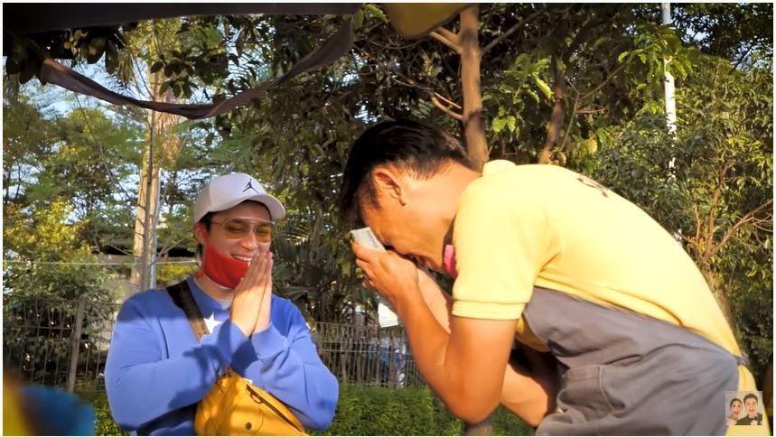 Raja Prank YouTube, 10 Aksi Sosial Baim Wong yang Tuai Pujian