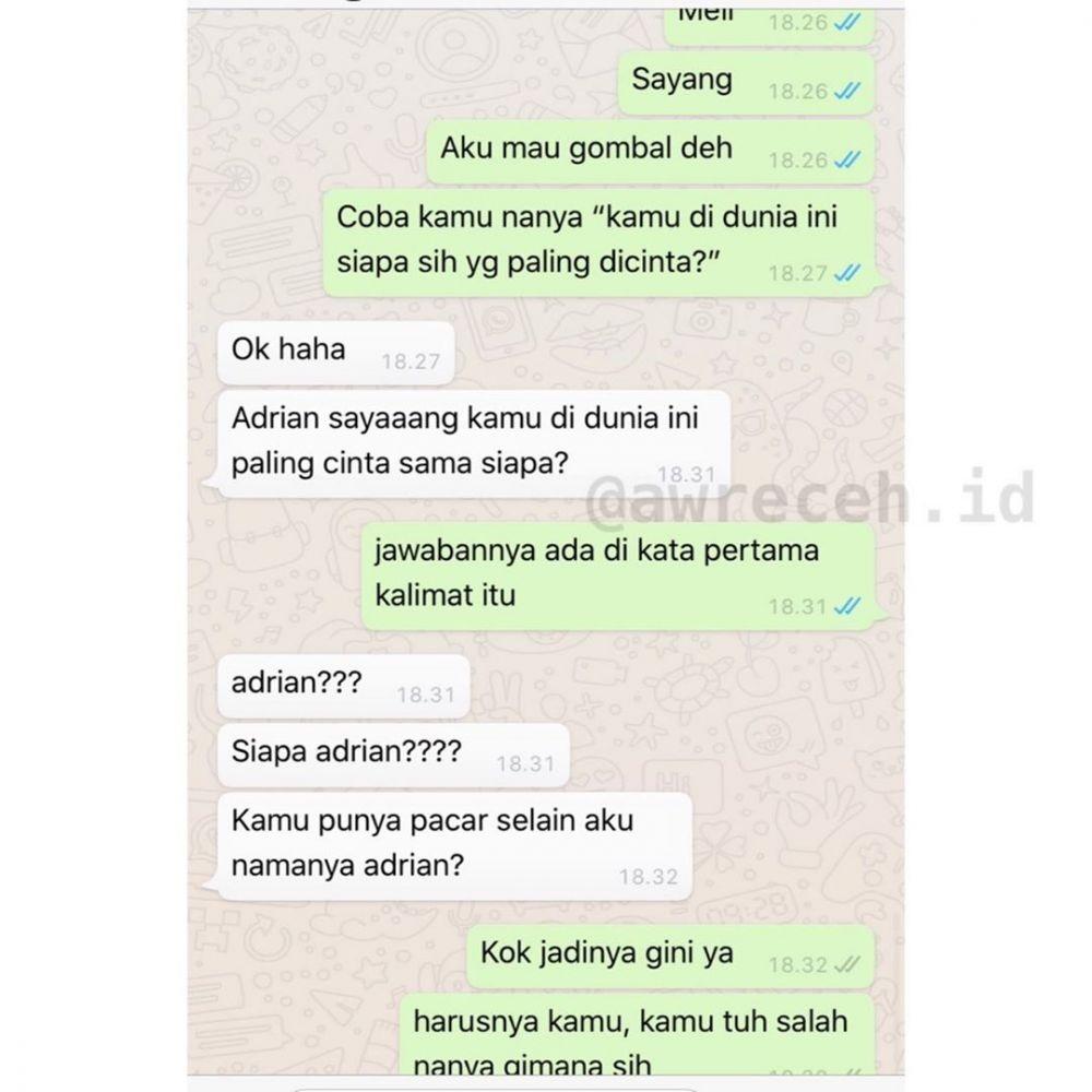 10 Chat Gombal Gagal ini Mak Jleb Jawabannya, Nyesek Abis!