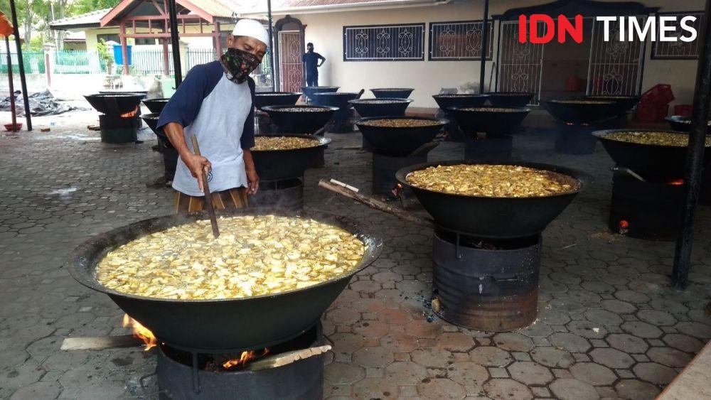 KenduriNuzulul Qur'an, 25 Belanga Kuah Beulangong untuk Warga Aceh