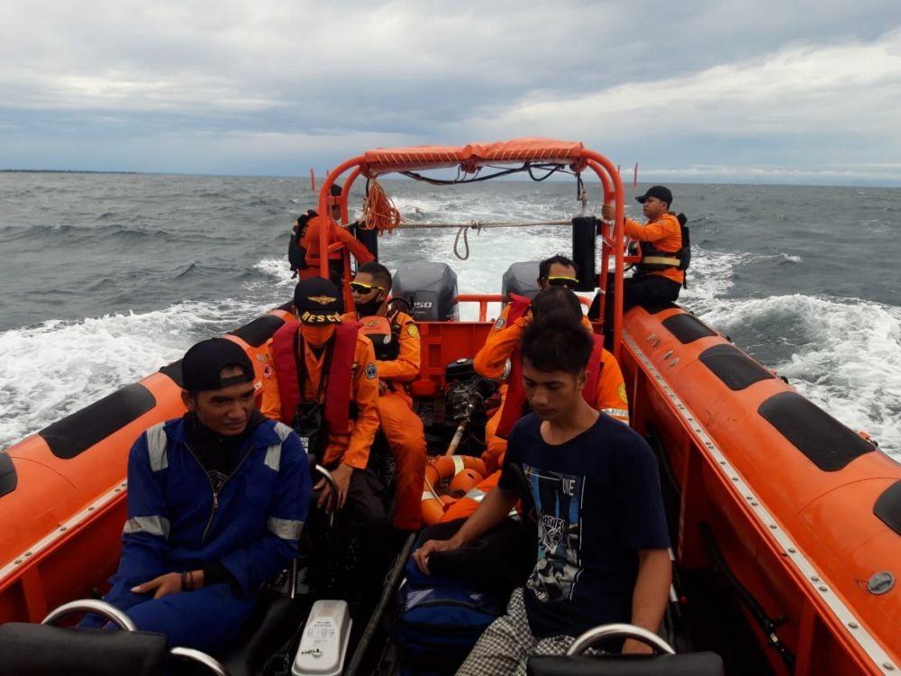 Dua Nelayan di Bantaeng Terombang-ambing di Laut selama Empat Jam
