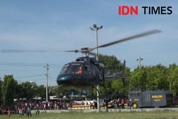 Helikopter TNI AD Jatuh di Kendal, 4 Meninggal 5 Luka-luka
