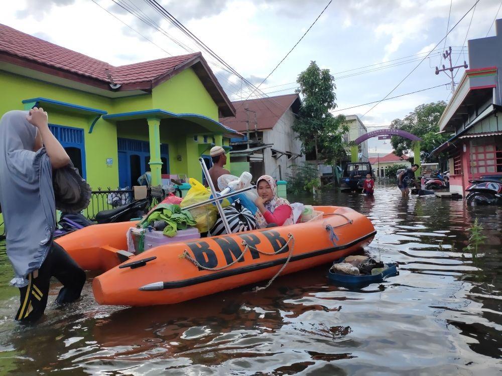 Hari Kedua Lebaran, 30 Ribu Warga di Samarinda Menderita karena Banjir