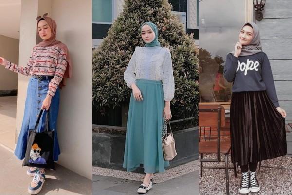 baju setelan atasan dan rok 04 ootd kekinian 2020 - Atasan dan Tunic Wanita  - Zilingo Shopping Indonesia
