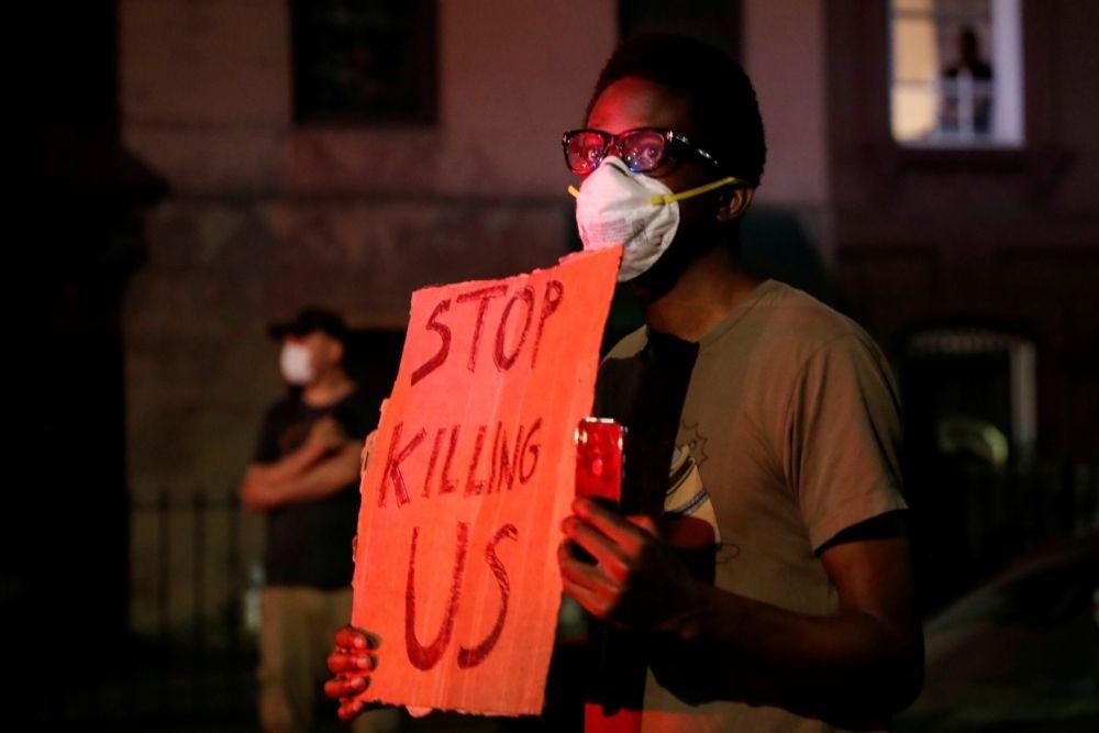 15 Potret Aksi Protes Kematian George Floyd di Berbagai Kota di AS