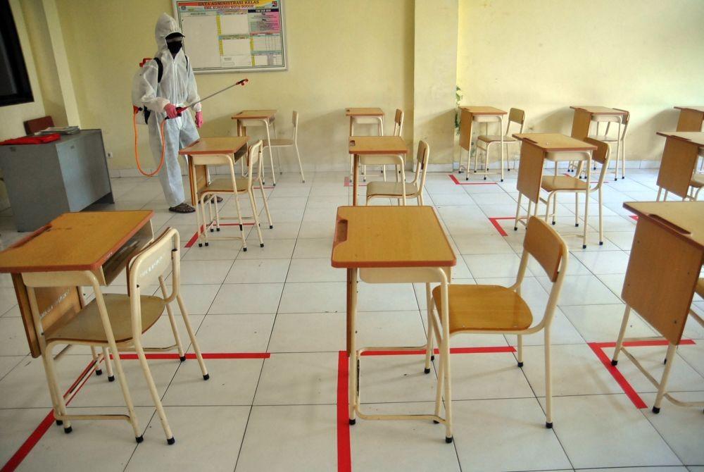 Ma'ruf Amin: Zona Hijau Boleh Menggelar Belajar Mengajar Tatap Muka