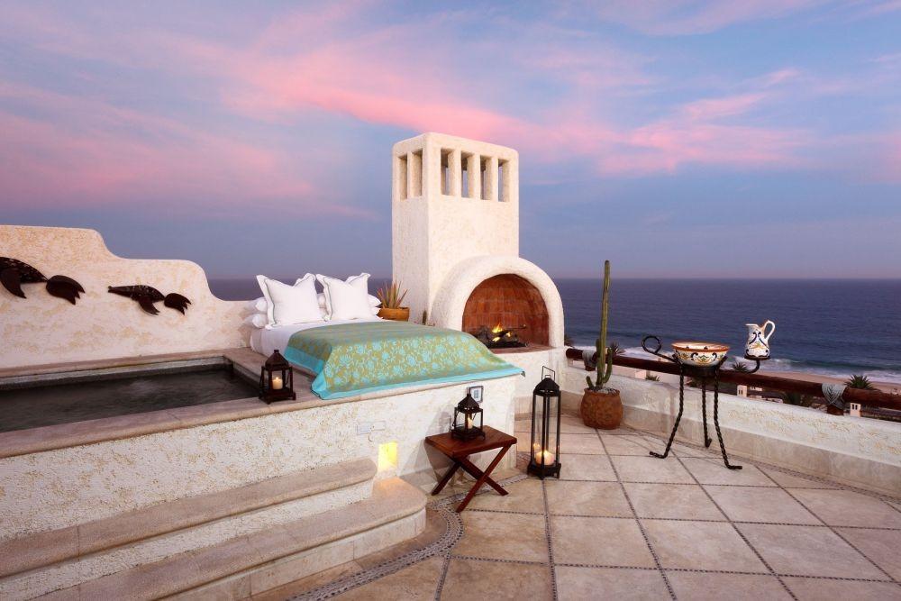 Tidur di Alam Terbuka, 10 Potret Kamar Hotel Tanpa Atap dan Dinding