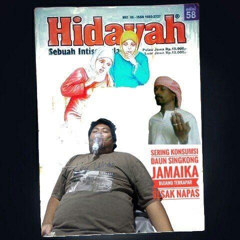 10 Editan Cover Majalah Hidayah Ini Bikin Ngakak