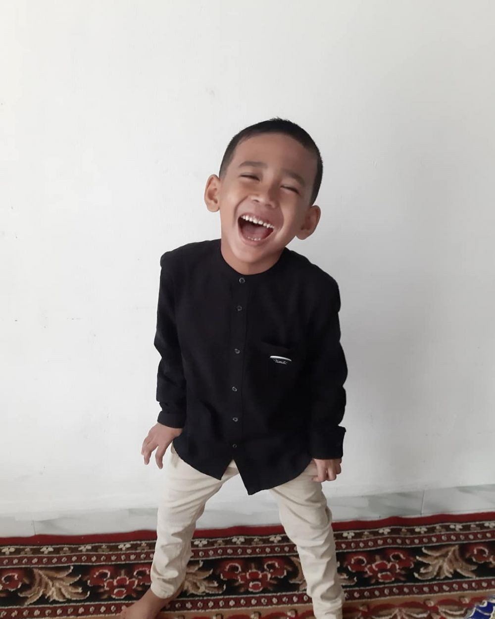 10 Portrait of Adorable Mizyan Hadziq Abdillah, Son of Ustaz Somad