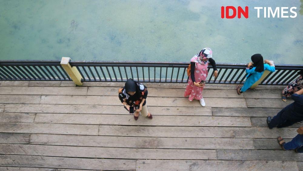 [FOTO] Cerita Mistis dan Keindahan Danau Linting Deli Serdang