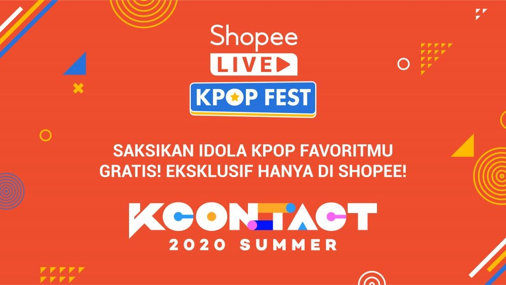 Watch KCON 2020 Come, Exclusive & FREE at Shopee Live Kpop Festival
