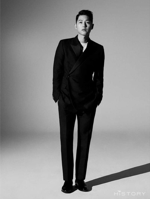 Makin Menawan, 9 Potret Song Joong Ki dengan Gaya Rambut Barunya