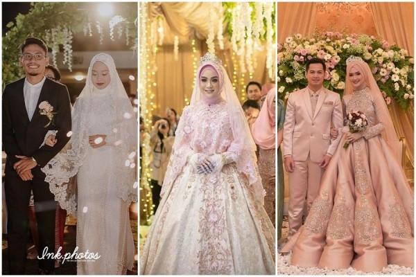 10 Gaun Pengantin Muslimah Gaya Modern Gak Kalah Dari Princess
