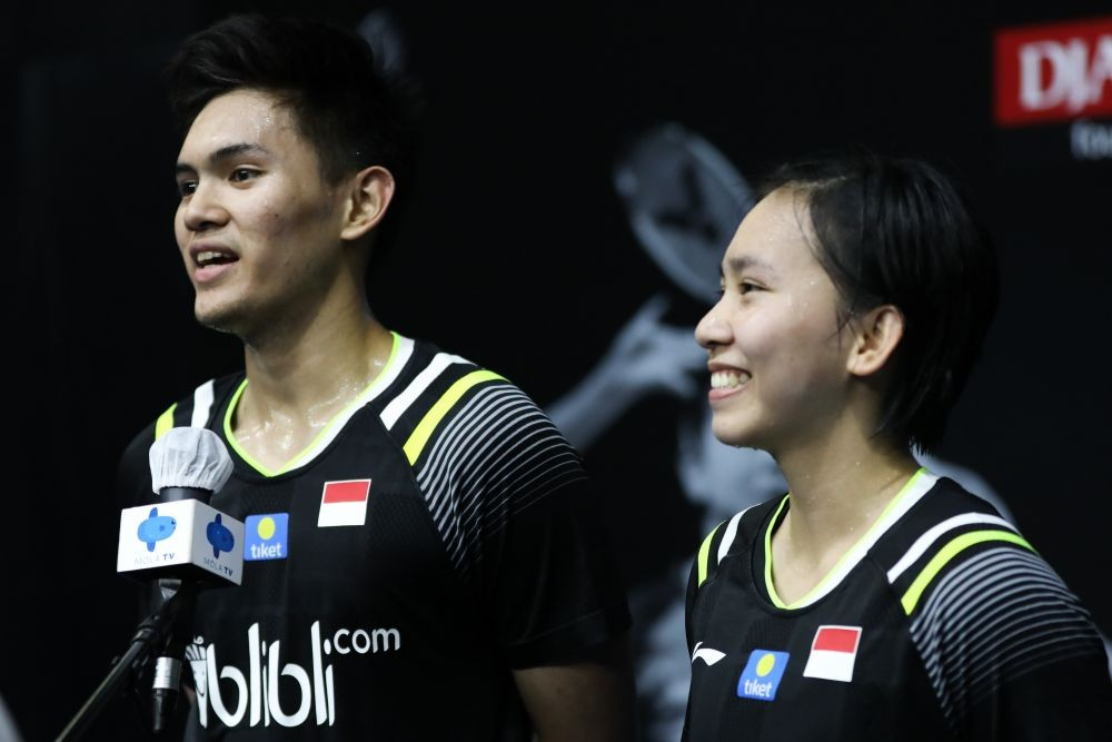 Final PBSI Home Tournament Pertemukan Praveen/Melati dan Kuda Hitam