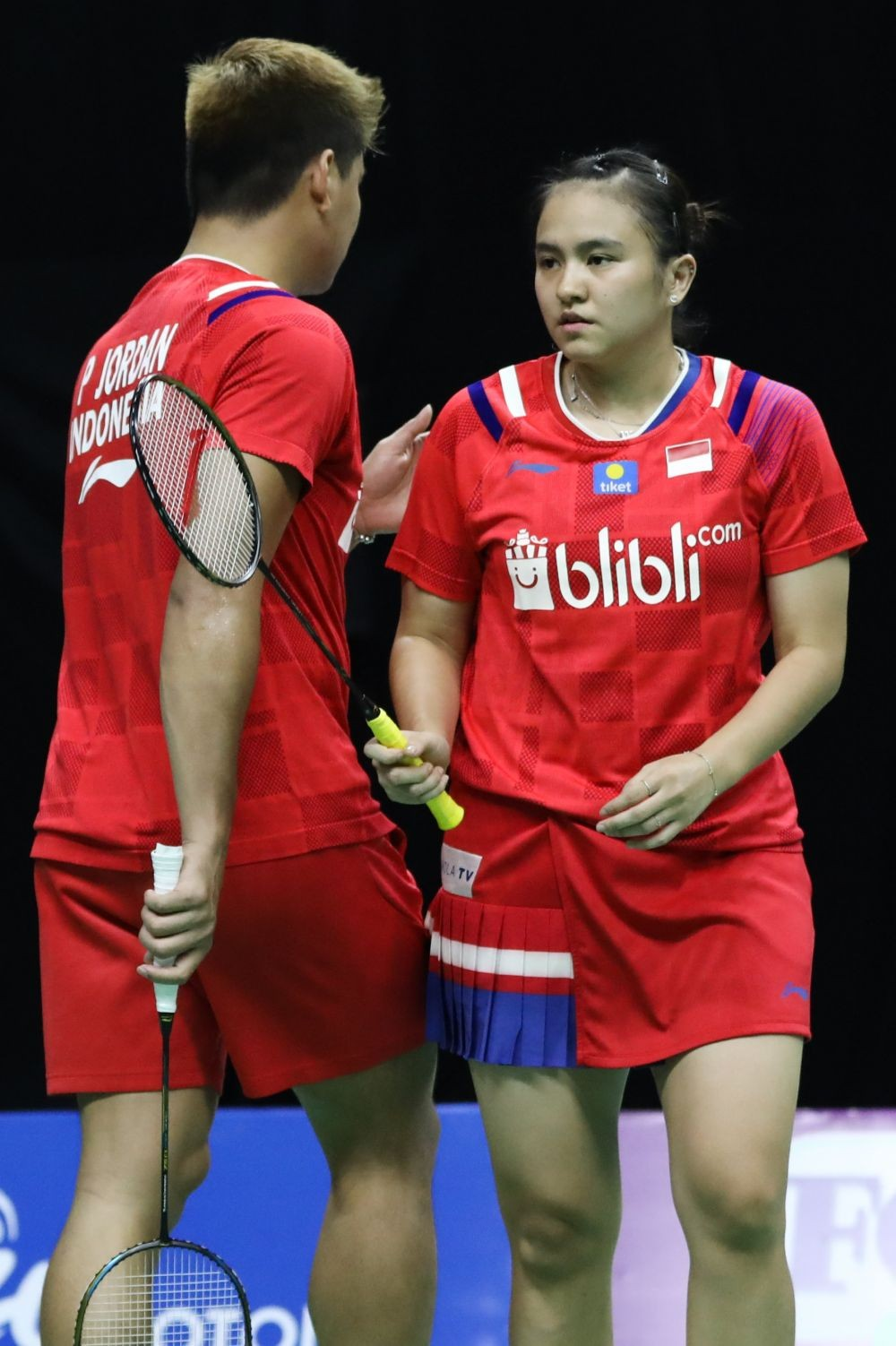 PBSI Home Tournament: Hampir Kalah, Praveen/Melati Menang Rubber Set