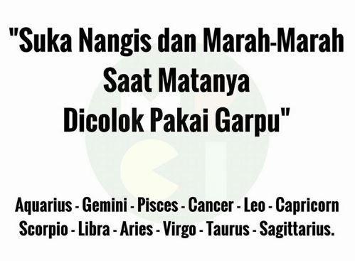 10 Meme Lucu Zodiak yang Bikin Kamu Gak Langsung Percaya Gitu Saja