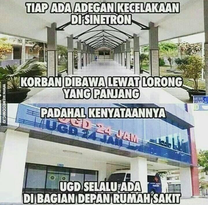 10 Meme Adegan Dokter di Sinetron Indonesia Bikin Cekikikan