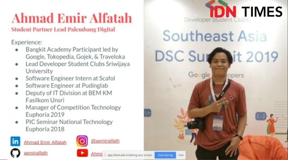 Mahasiswa Palembang Bikin Aplikasi Deteksi Buah Segar