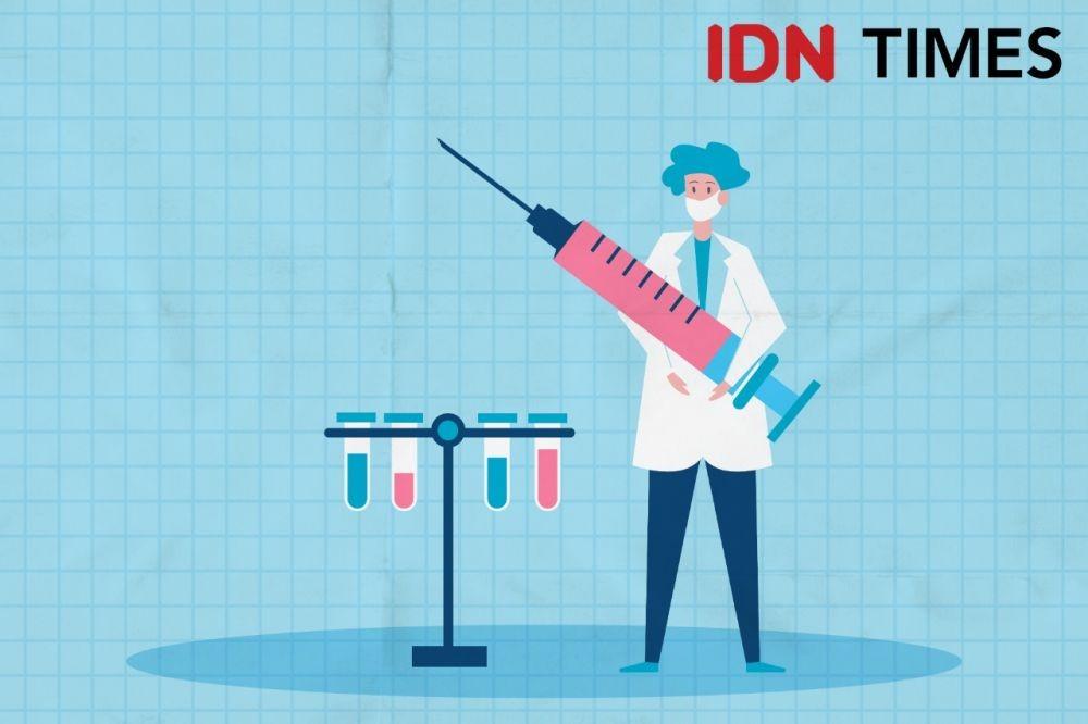 Agar  Tidak Tertipu yang Palsu, Ingat Vaksin COVID-19 Ditempel Barcode