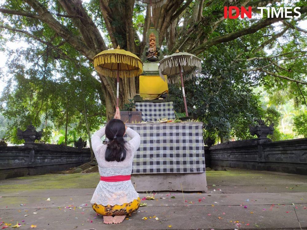 Mengenal Tradisi Unik di Bali, Ari-ari Bayi Digantung di Kuburan